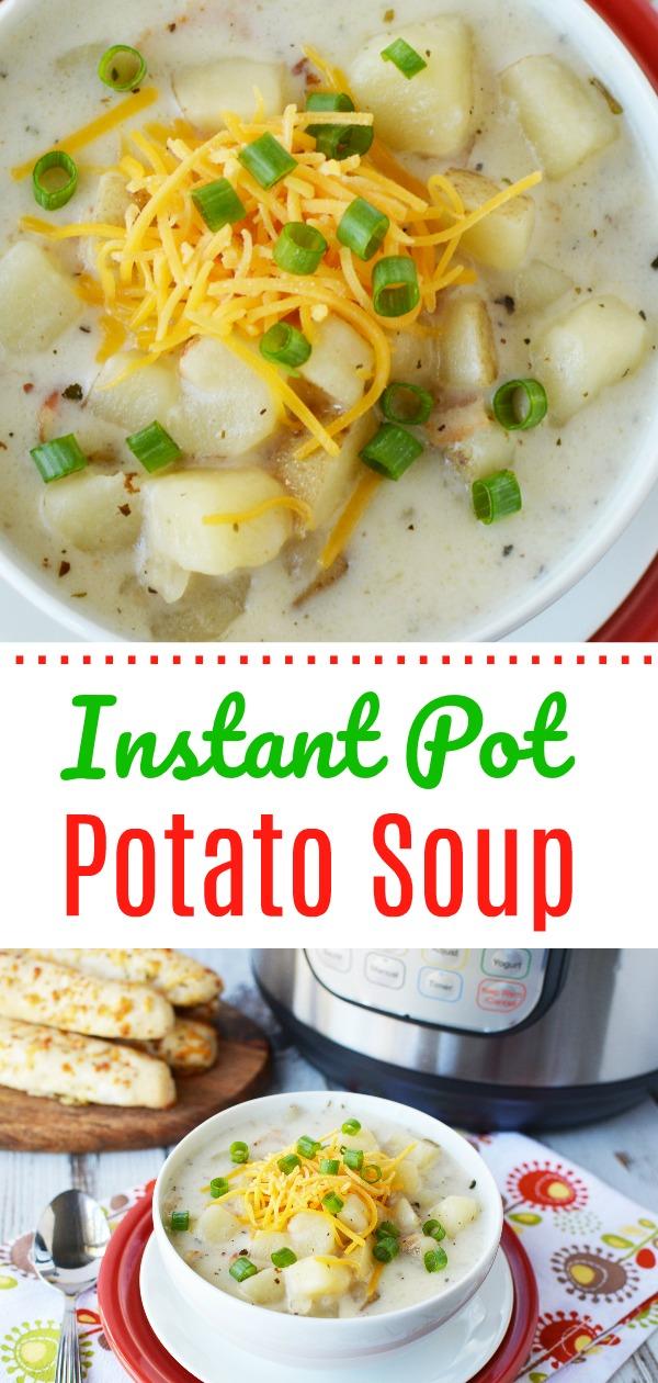 loaded baked potato soup recipe pin