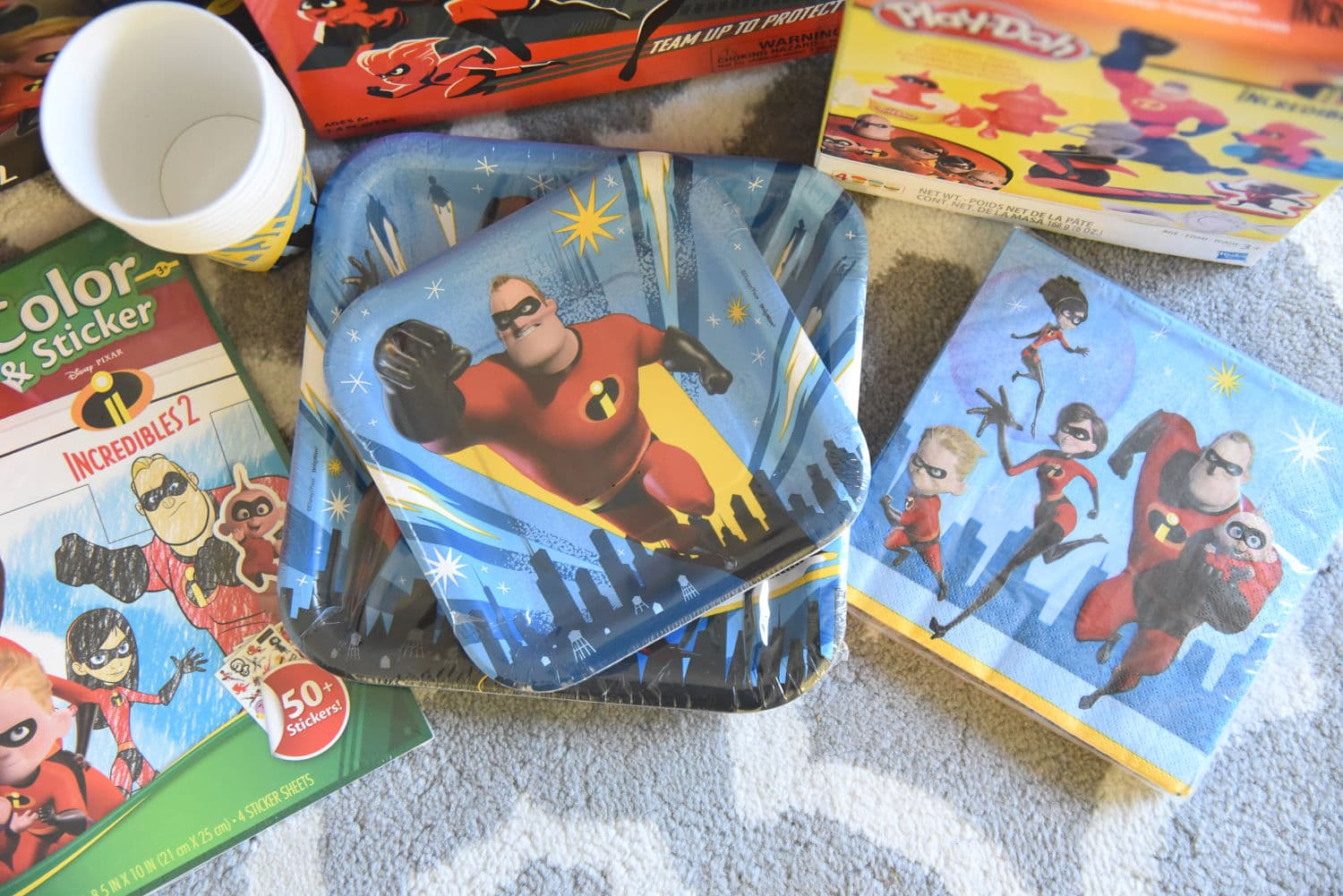 Incredibles napkins