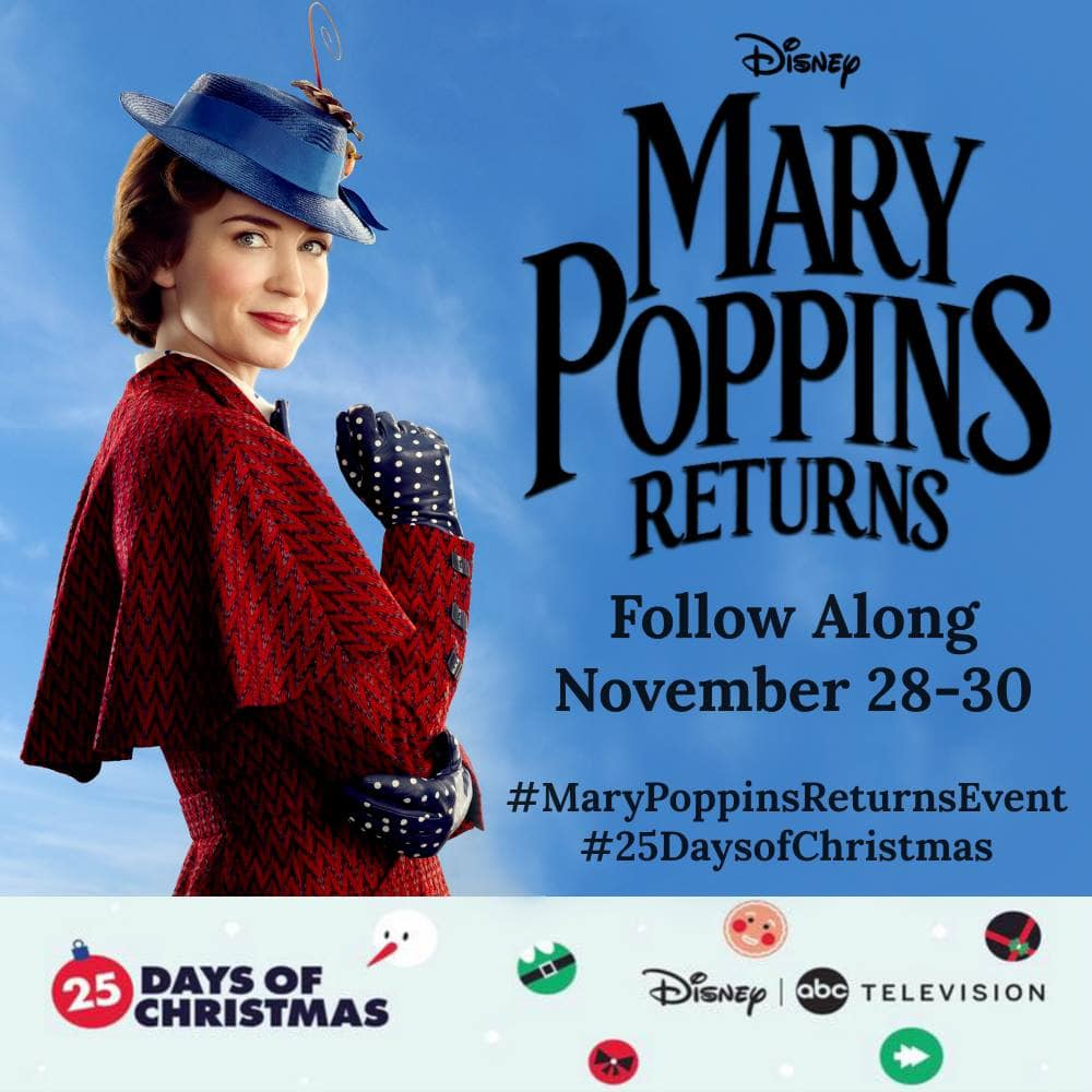 Mary Poppins Returns button