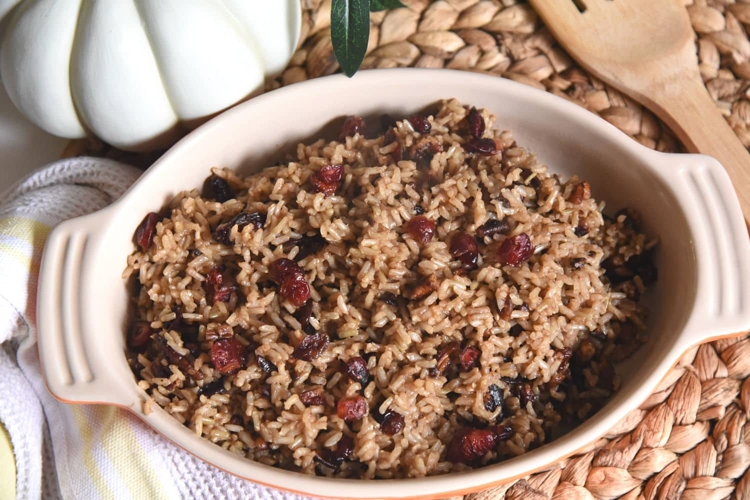 Thanksgiving rice dish