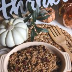 Thanksgiving rice side dish