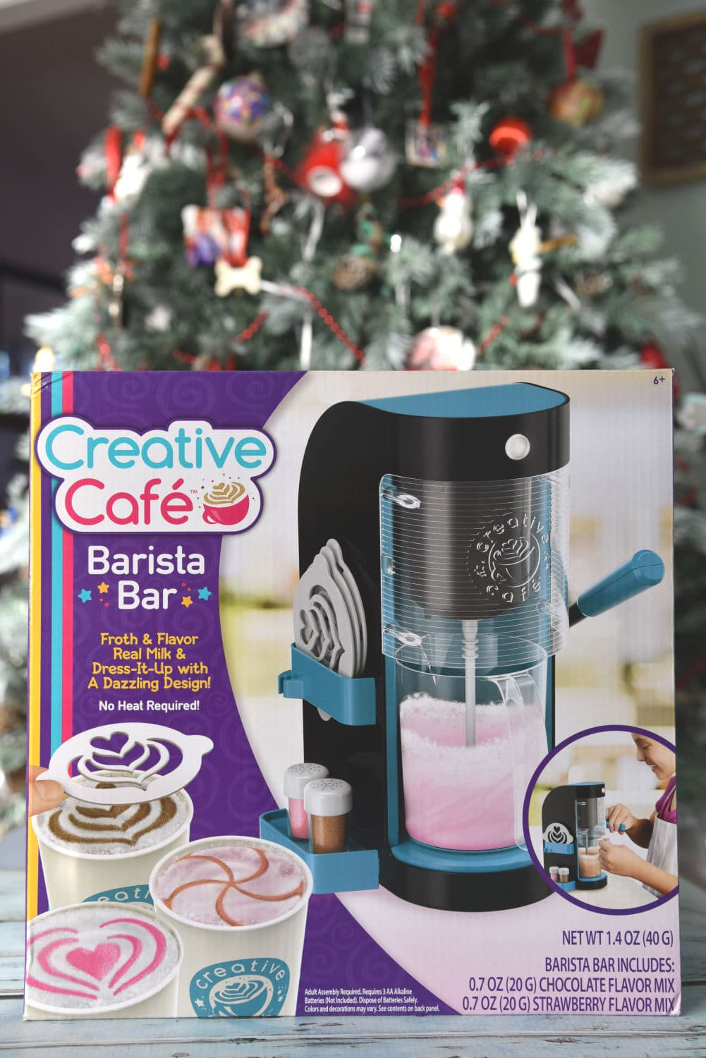 Creative Cafe for the holidays