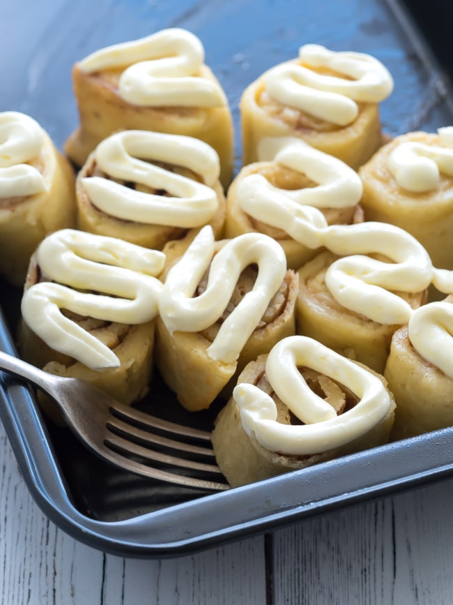 These Easy Keto Cinnamon Rolls are one of my favorite treats for my morning meals.