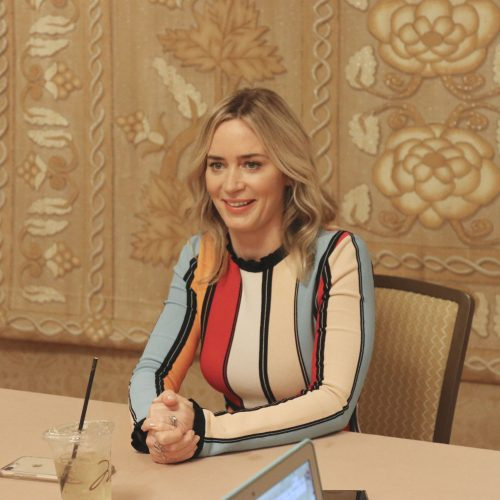 Emily Blunt Interview