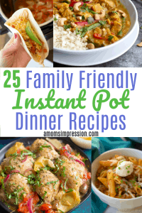Family Friendly Instant Pot Dinner Recipes