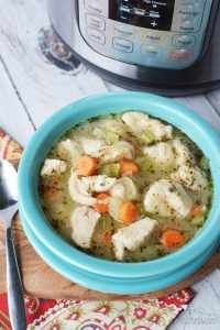 Instant Pot Chicken and Dumplings