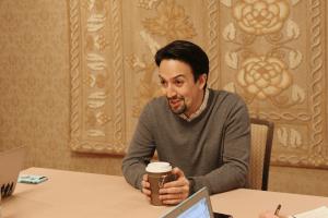 Interview with Lin Manuel Miranda