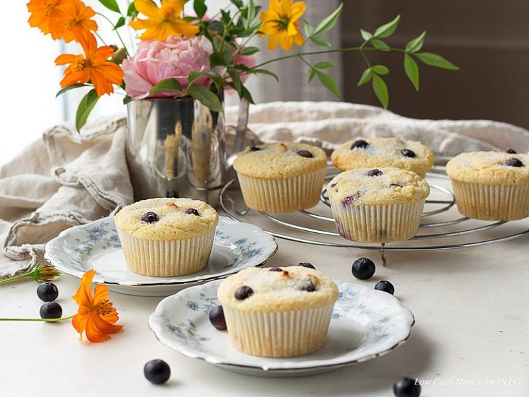 I love to put blueberries in my Keto Breakfast Muffins.