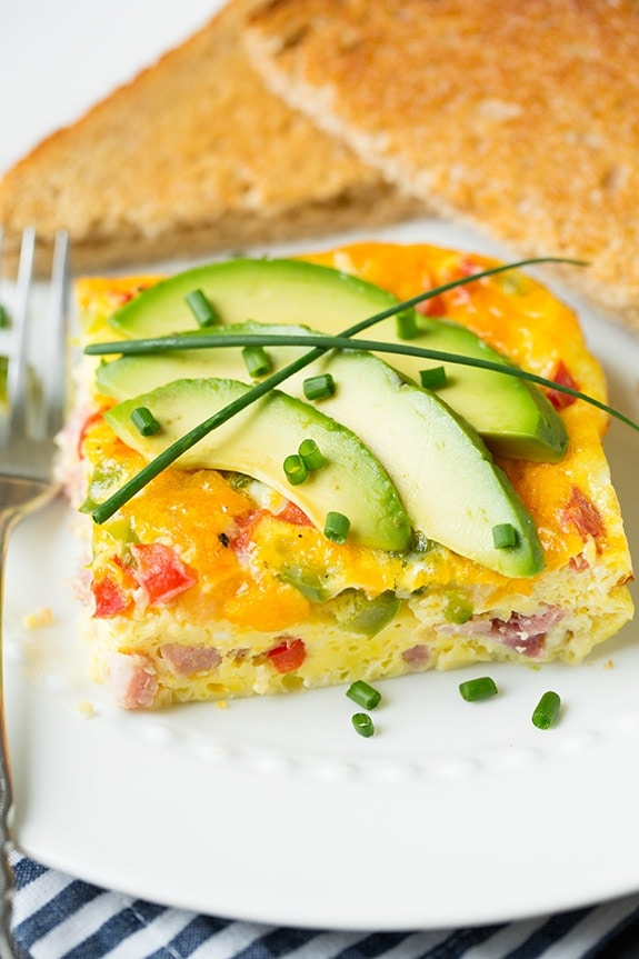 This Denver Omelet is an easy keto friendly breakfast