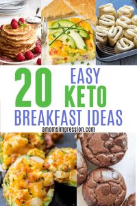 20 Easy Keto Breakfast Recipe Ideas