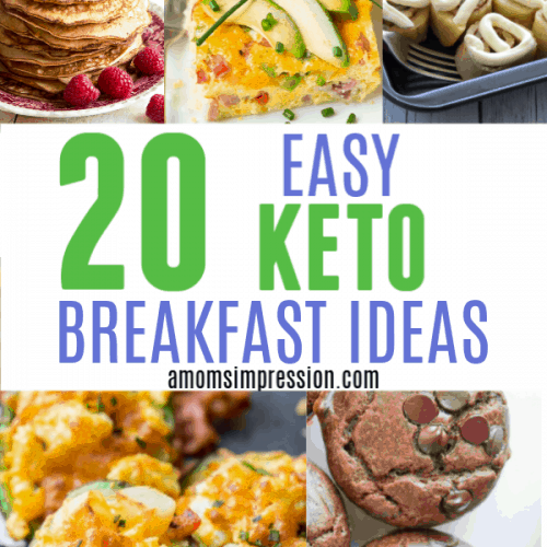 20 Easy Keto Breakfast Recipe Ideas
