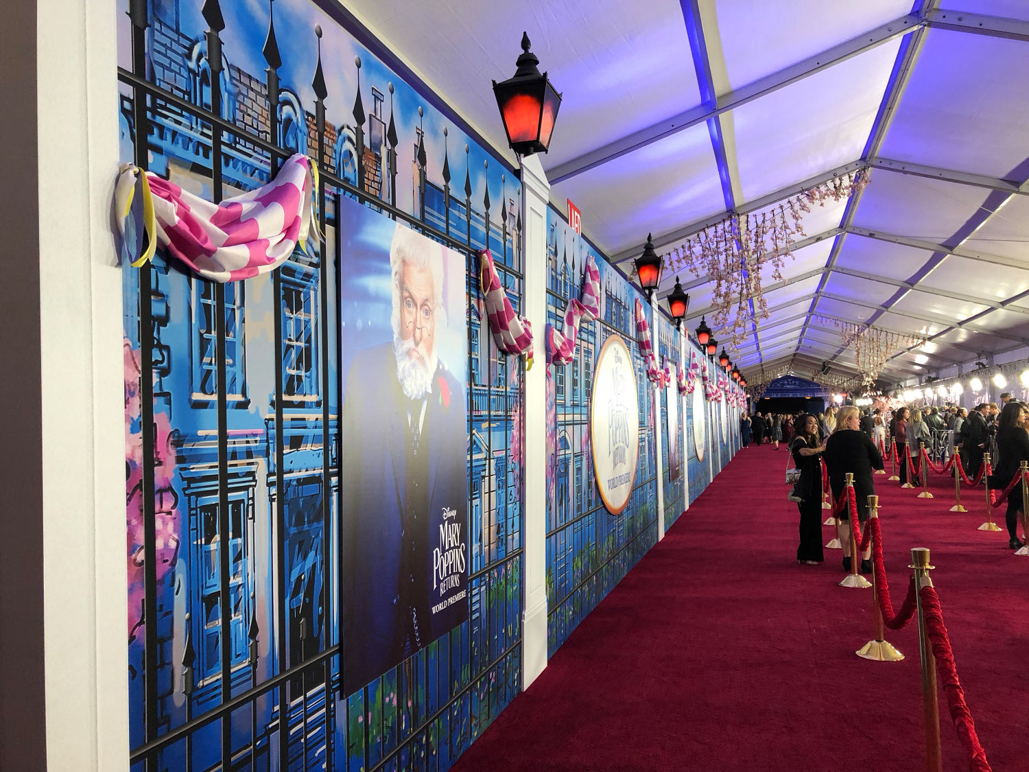 The Mary Poppins REturns Red Carpet