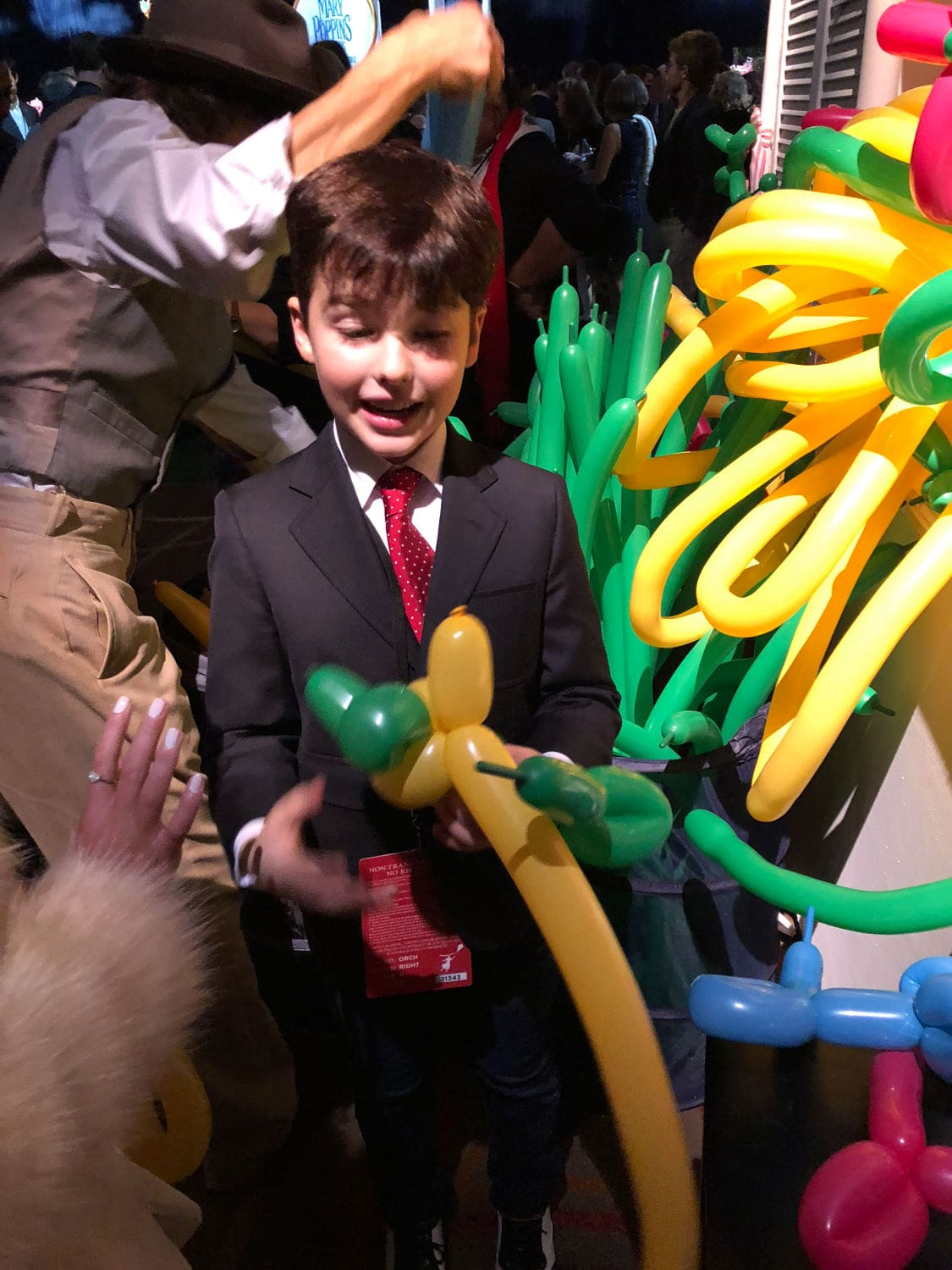 Young Sheldon and the balloons
