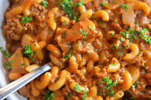 easy Old Fashioned goulash