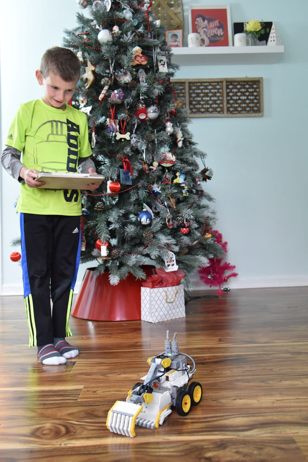 playing with the jimu robot