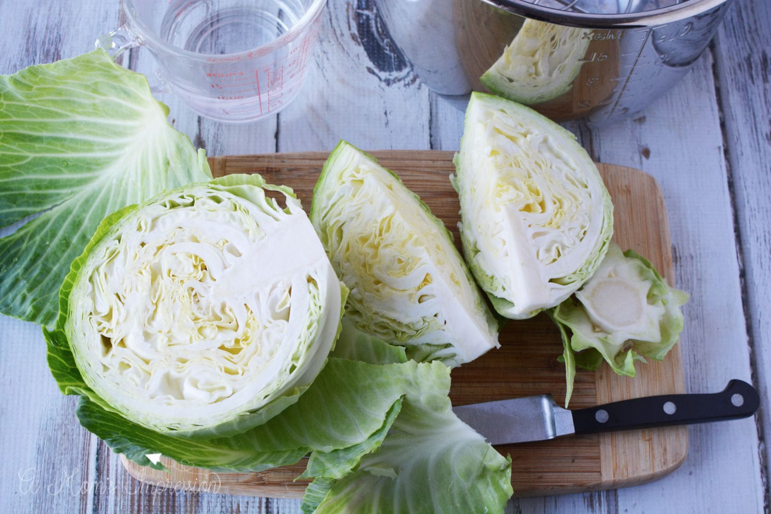 Cooking Cabbage in Instant Pot