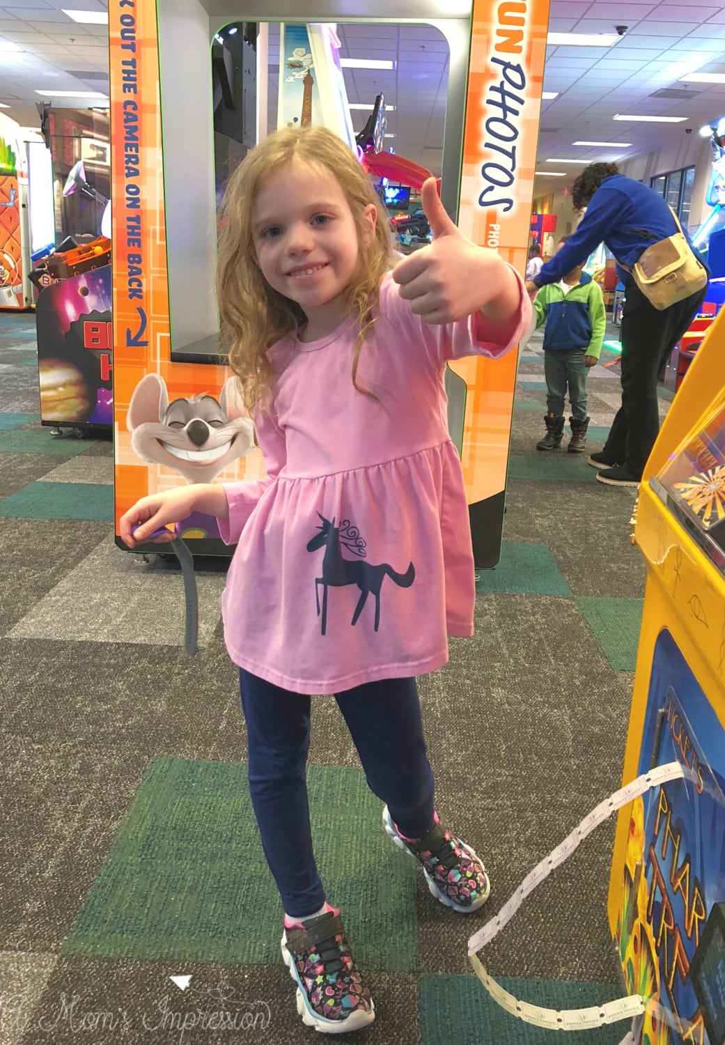Winning Games at Chuck E. Cheeses
