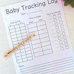 Baby Tracking Log