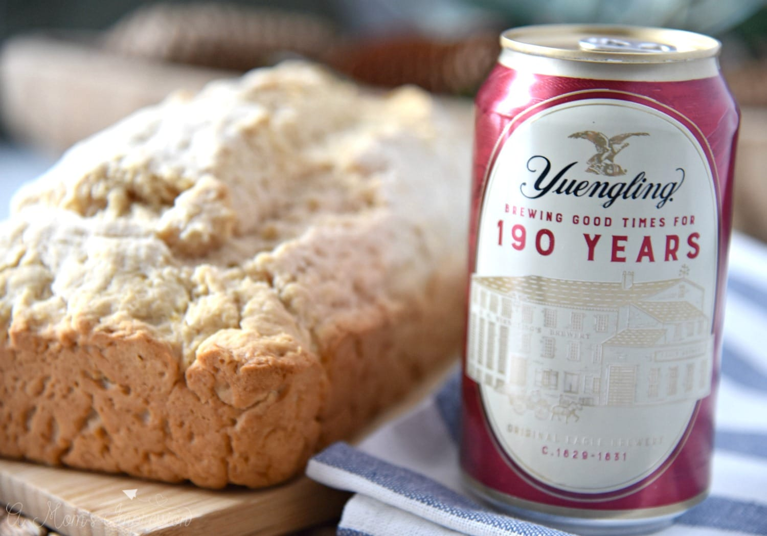 Easy Honey Beer Bread Made with a traditional lager