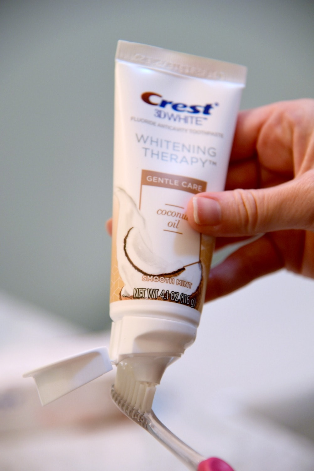 Crest Coconut oil toothpaste