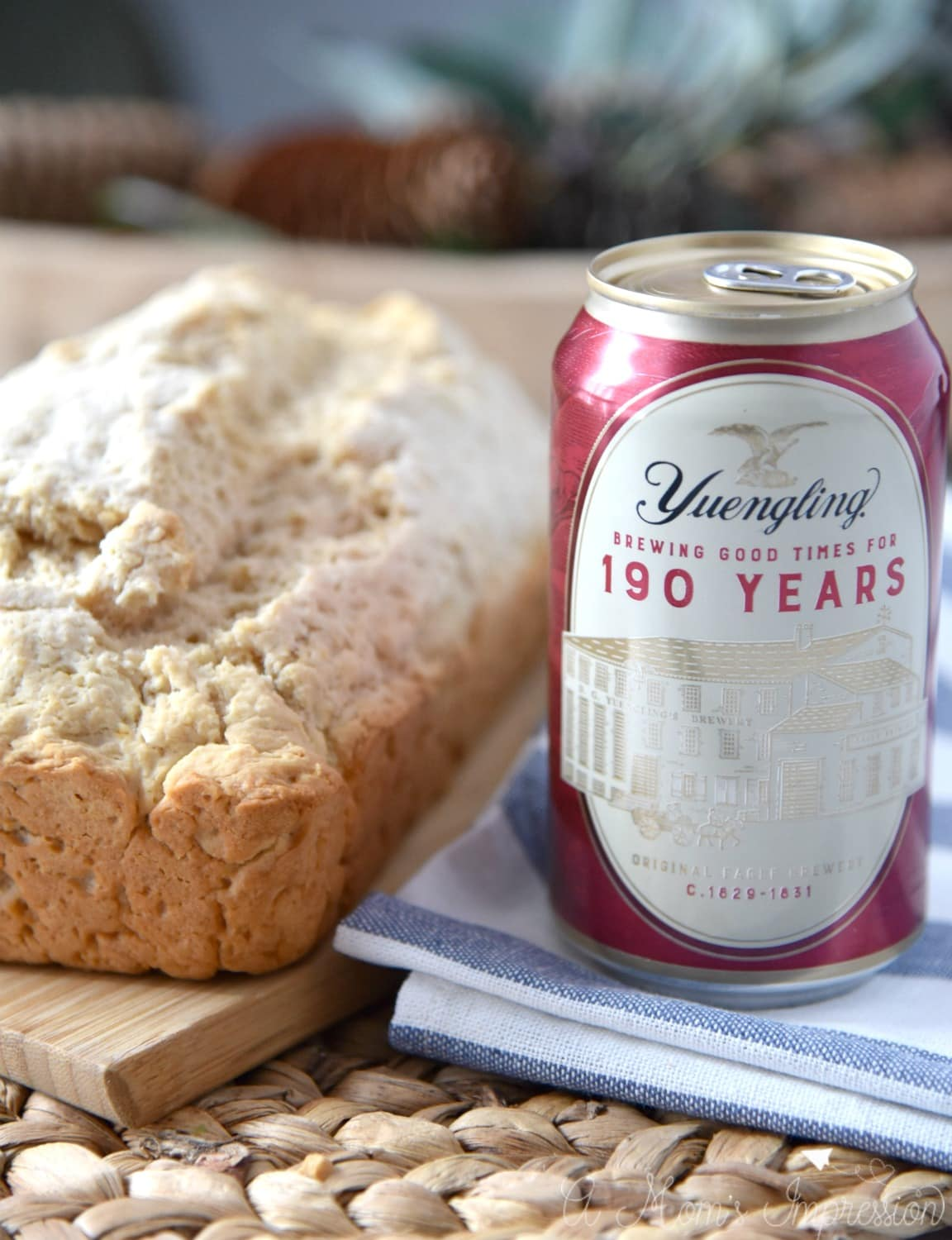 Honey Beer Bread Recipe is slightly sweet and salty in all the right ways