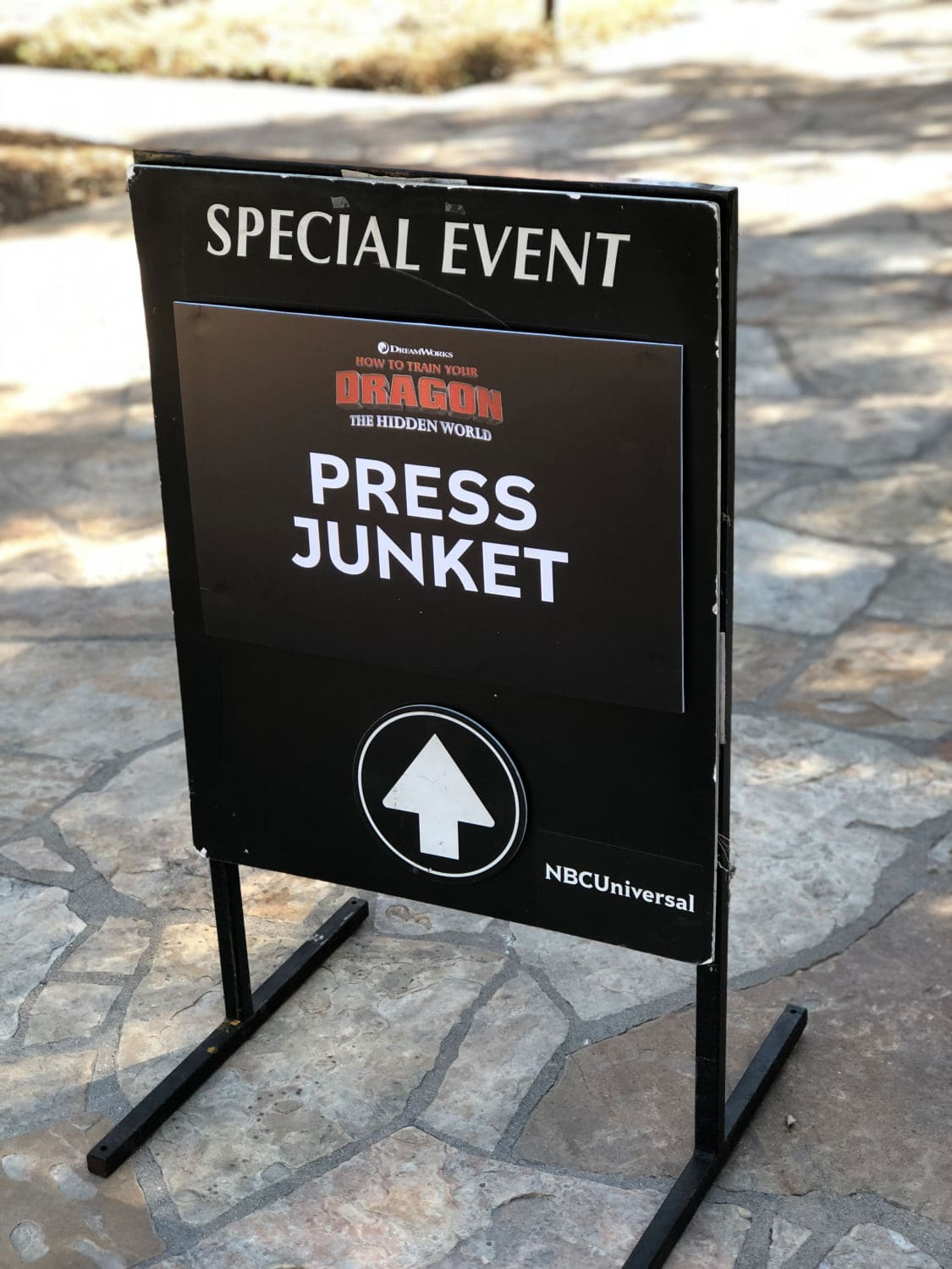 How to Train Your Dragon Press Junket