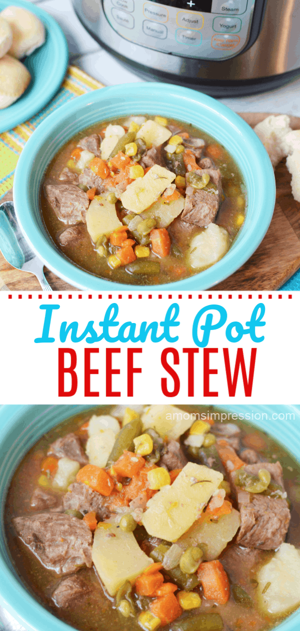 Easy Instant Pot Beef Stew Recipe