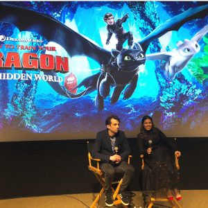 Interview with Jay Baruchel (Hiccup) and America Ferrera (Astrid)