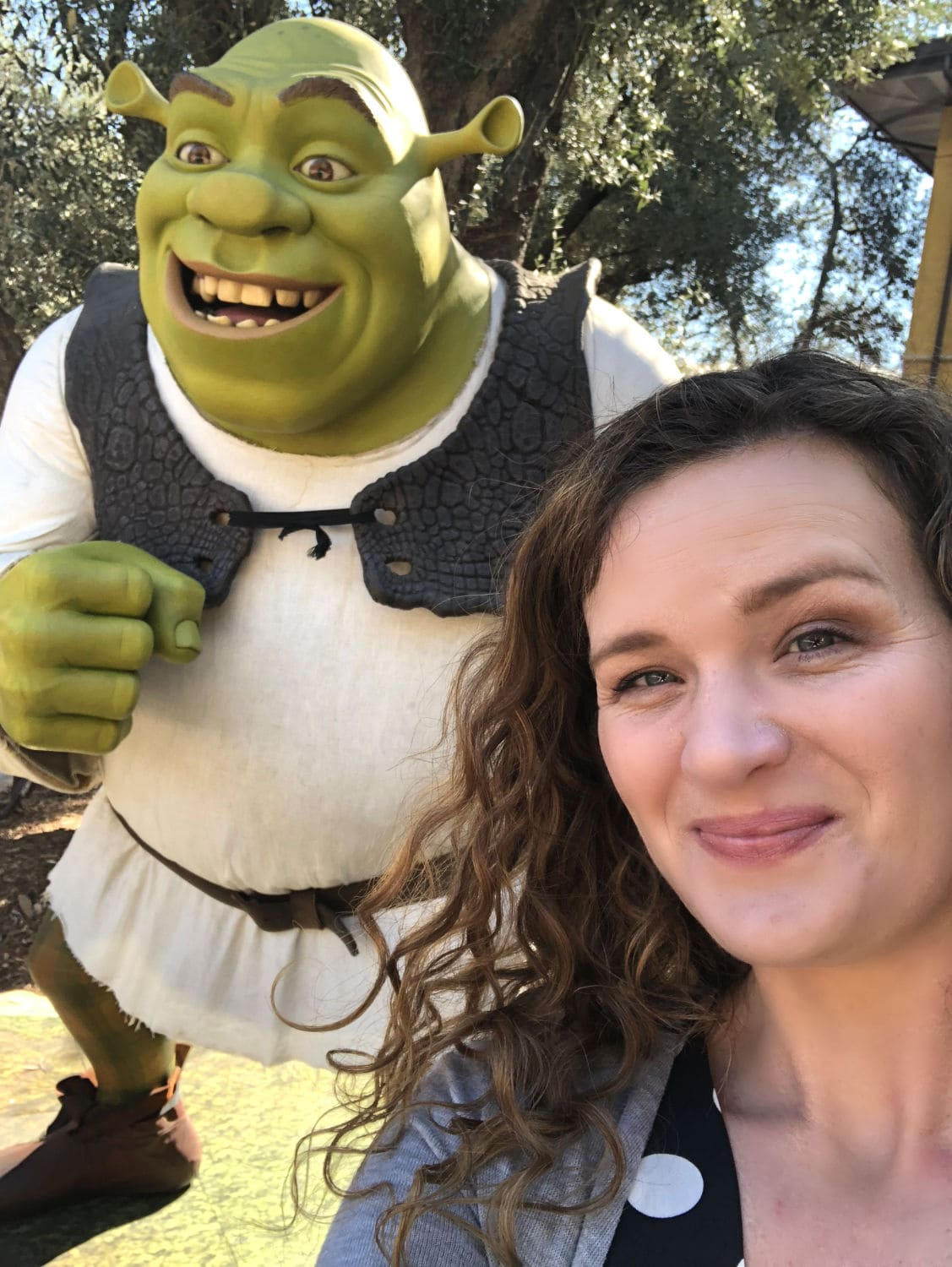 Shrek and I