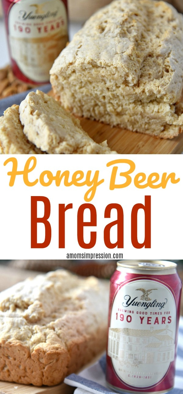 Honey Beer Bread Pin