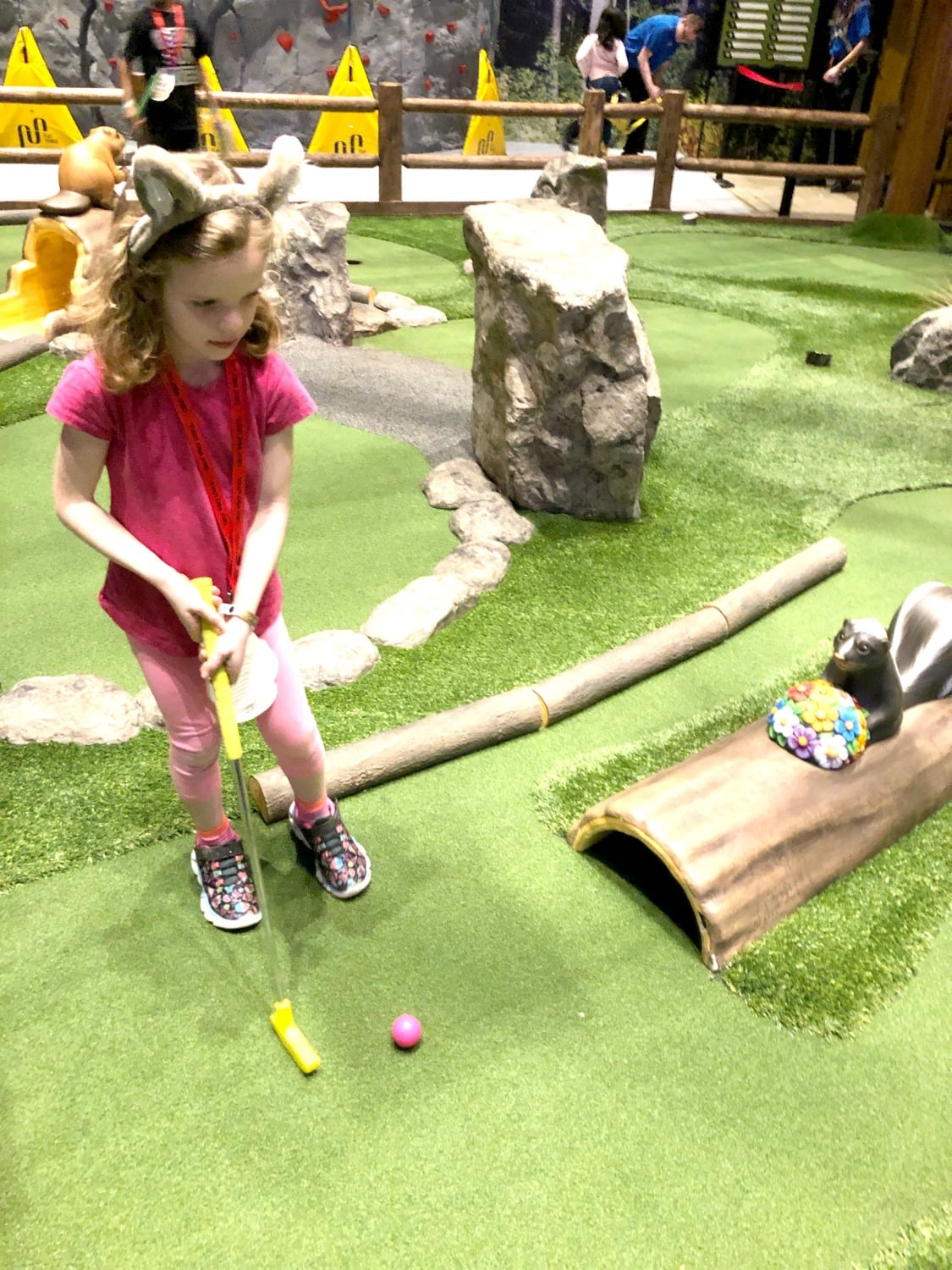 Great Wolf Lodge mini golf