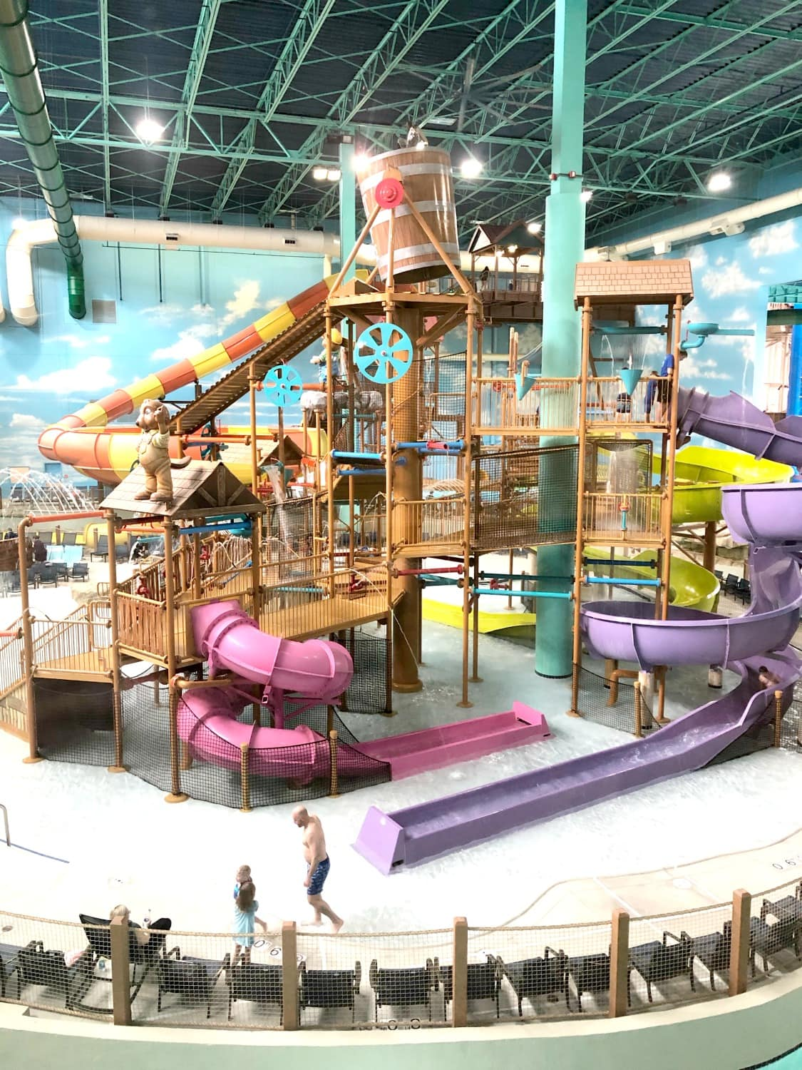 Indoor waterpark at great wolf lodge gurnee