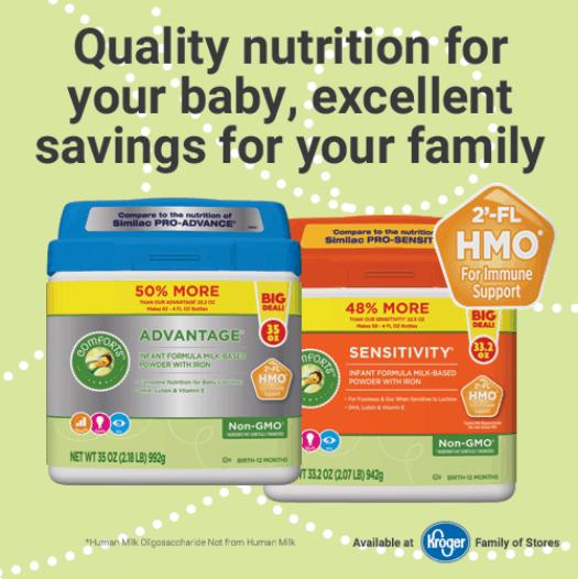 Kroger Baby Formula Nutrition
