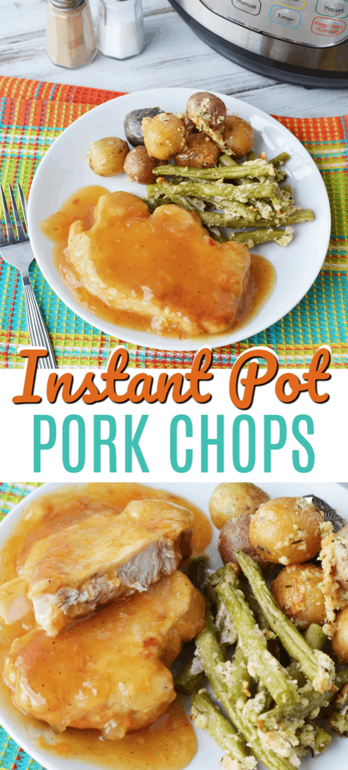 Pressure cooker boneless Pork Chops