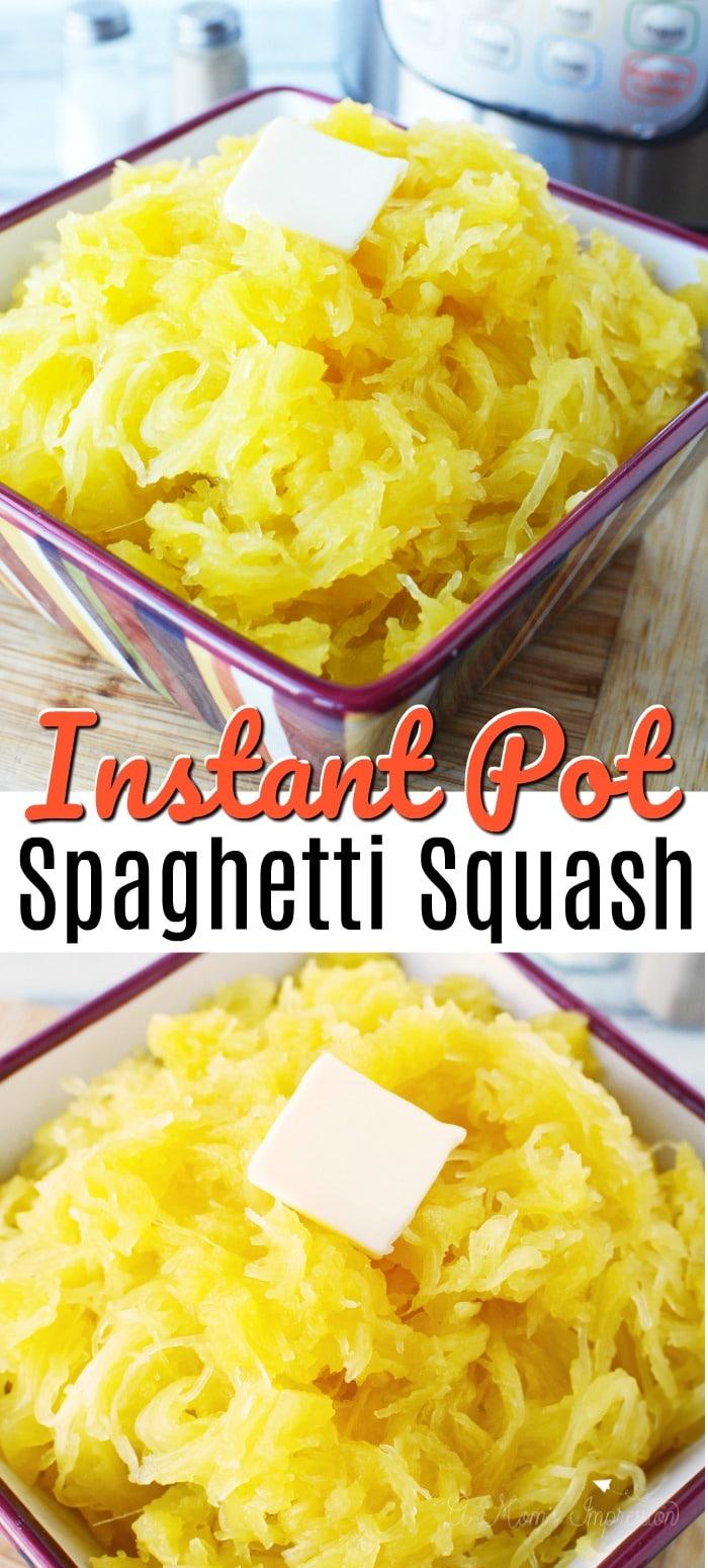 spaghetti squash in pressure cooker