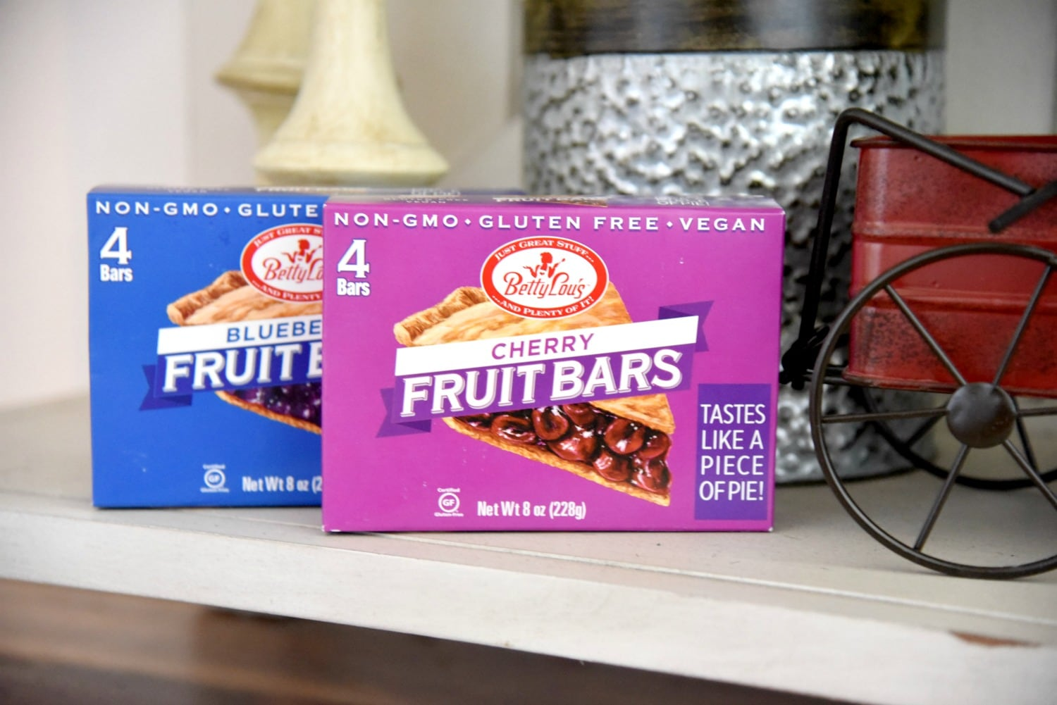 Betty Lous fruit bars