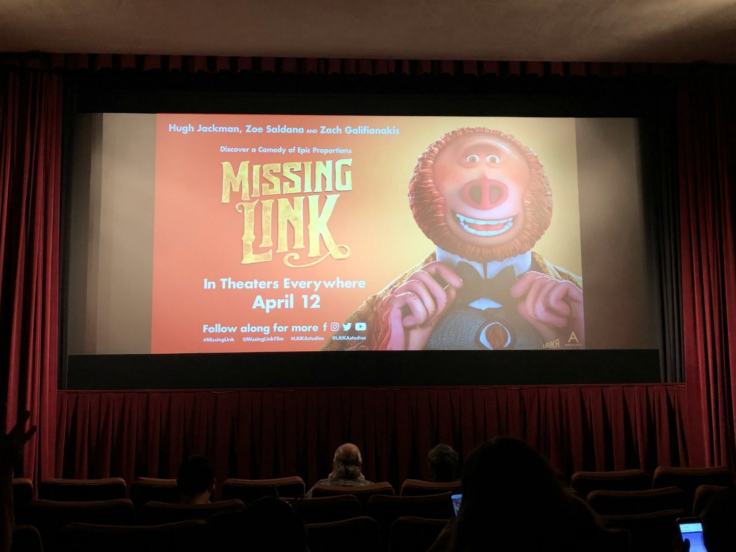 Missing Link Screening