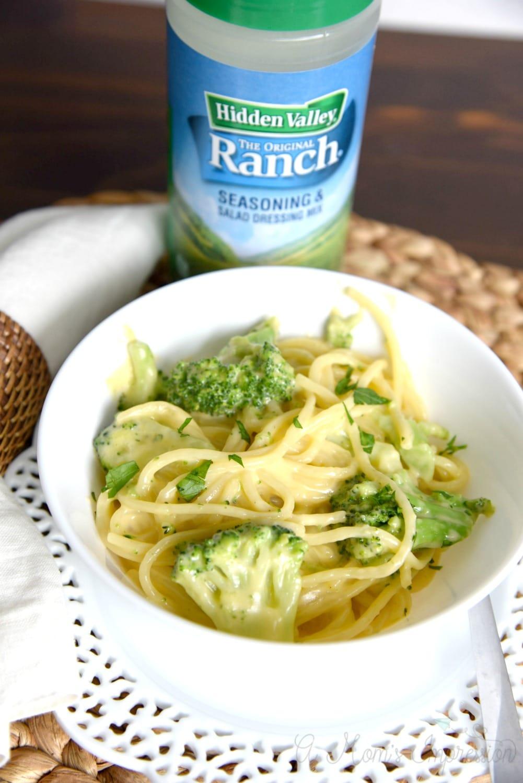 cheesy Ranch spaghetti