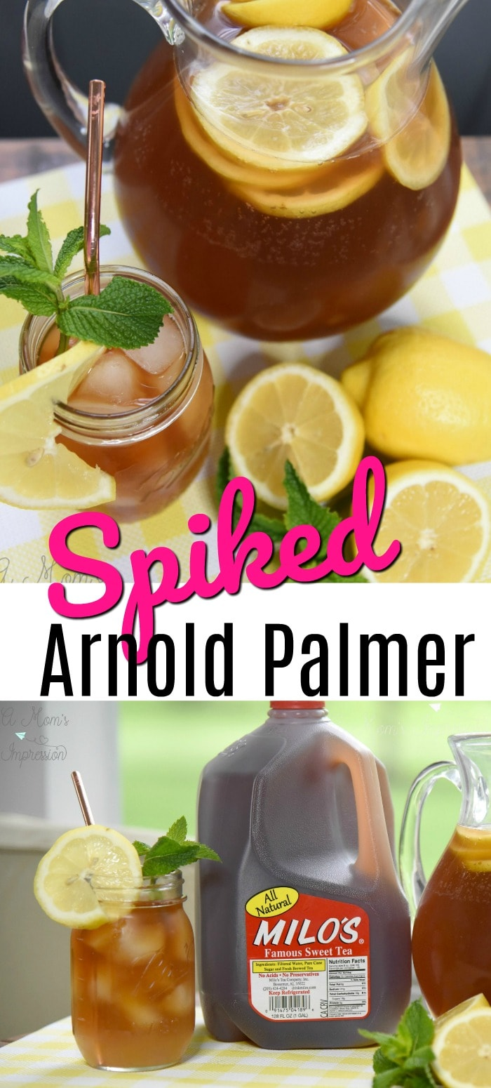 Arnold Palmer with Vodka