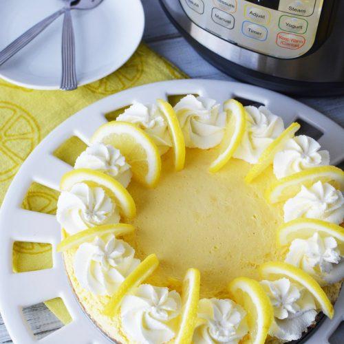 Instant Pot Lemon Cheesecake(1)
