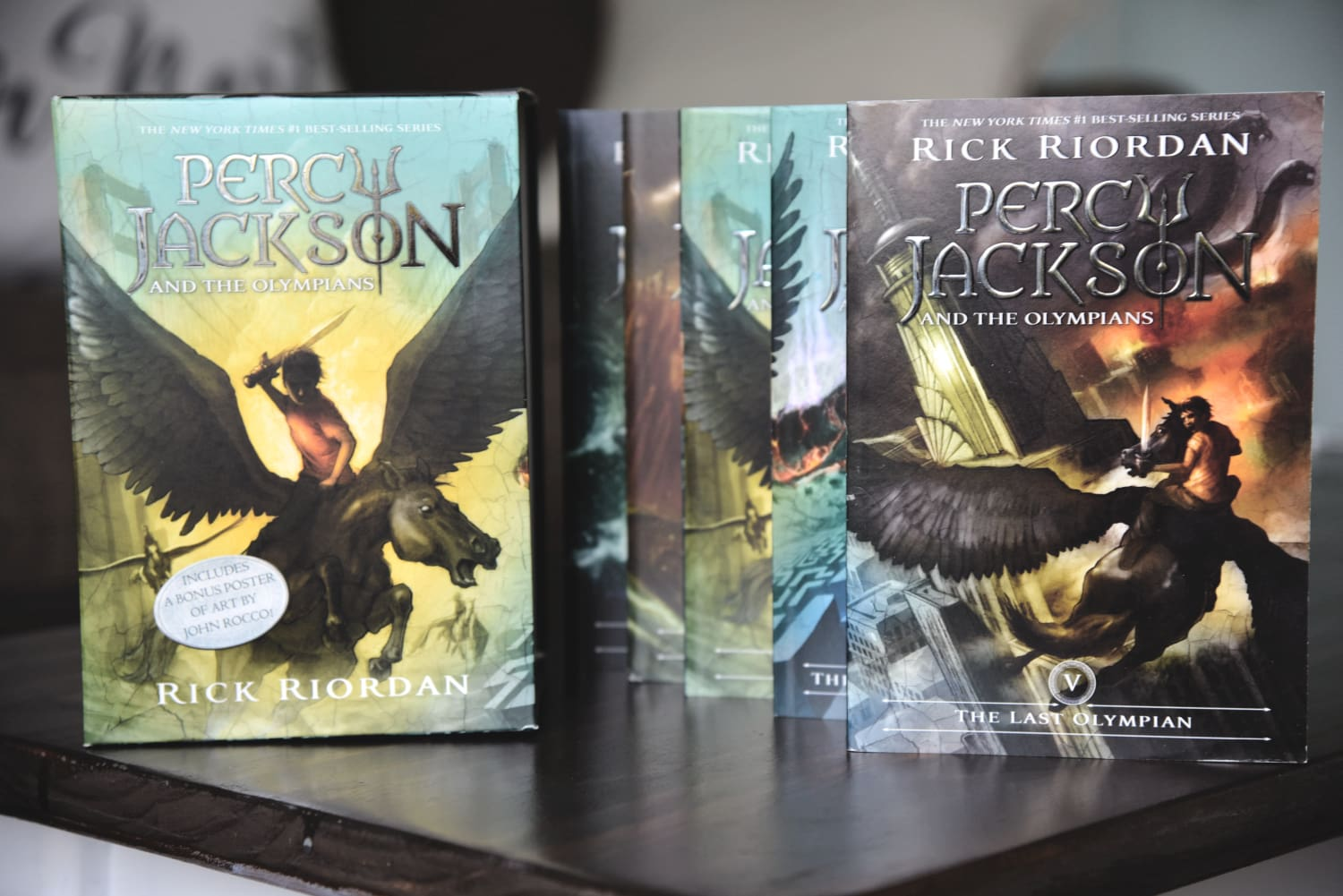 Percy Jackson Book Set
