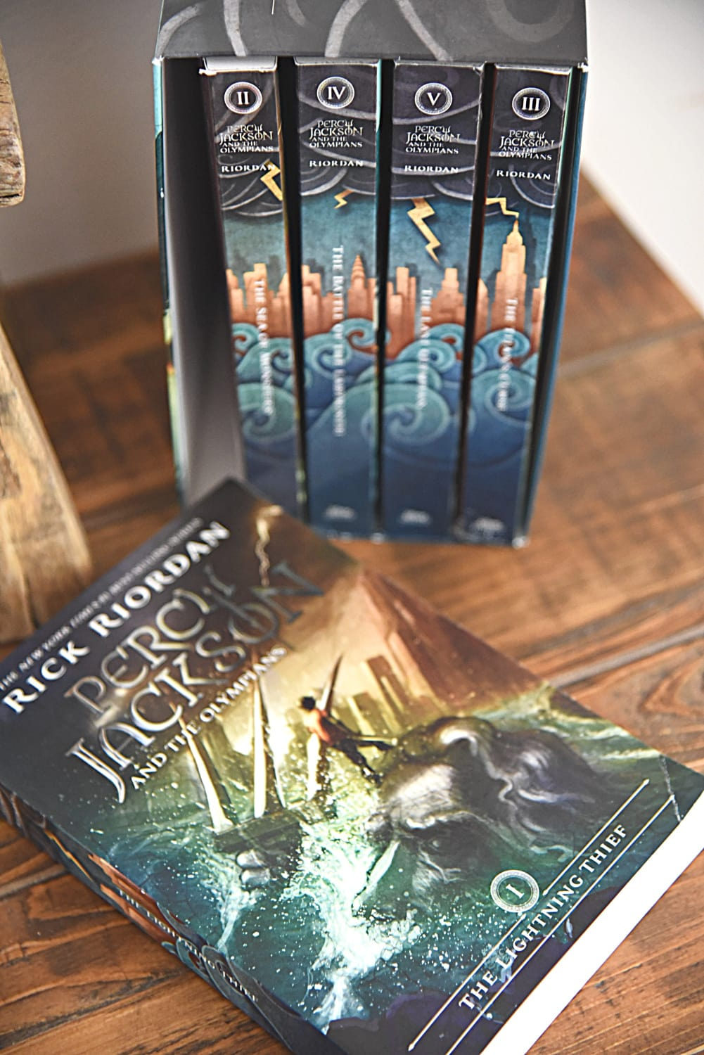 Rick Riordan Book Set