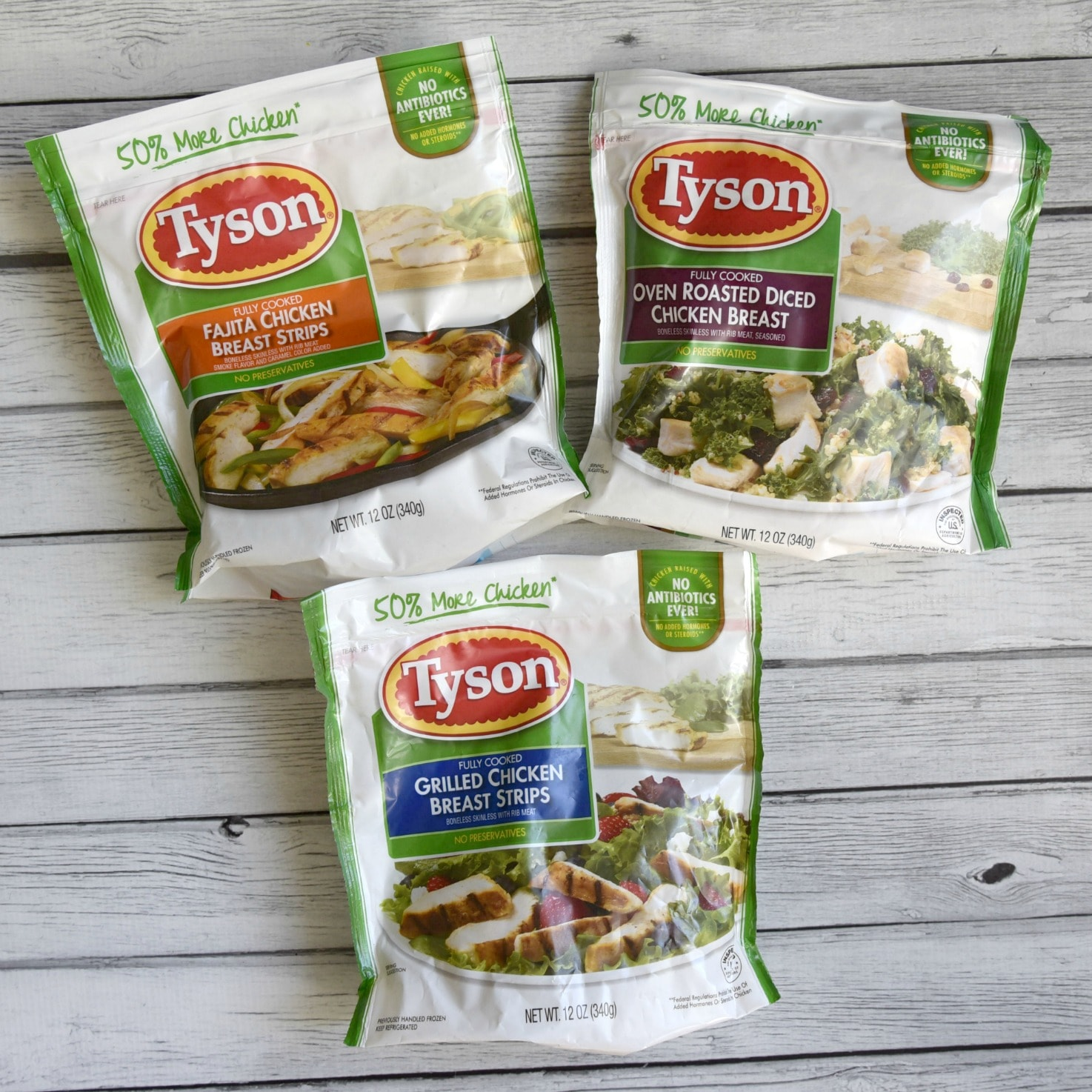 Tyson refrigerated chicken