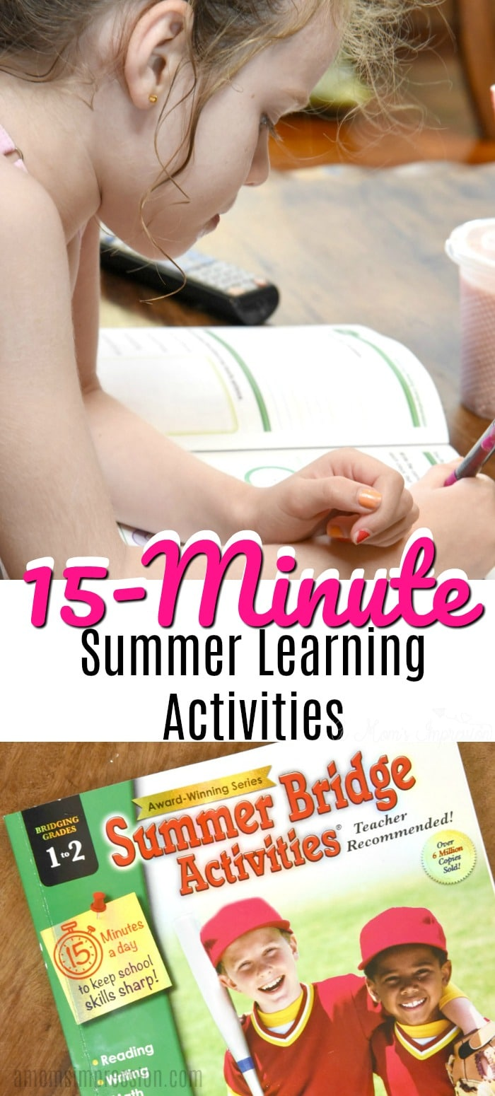 15 summer learning activities
