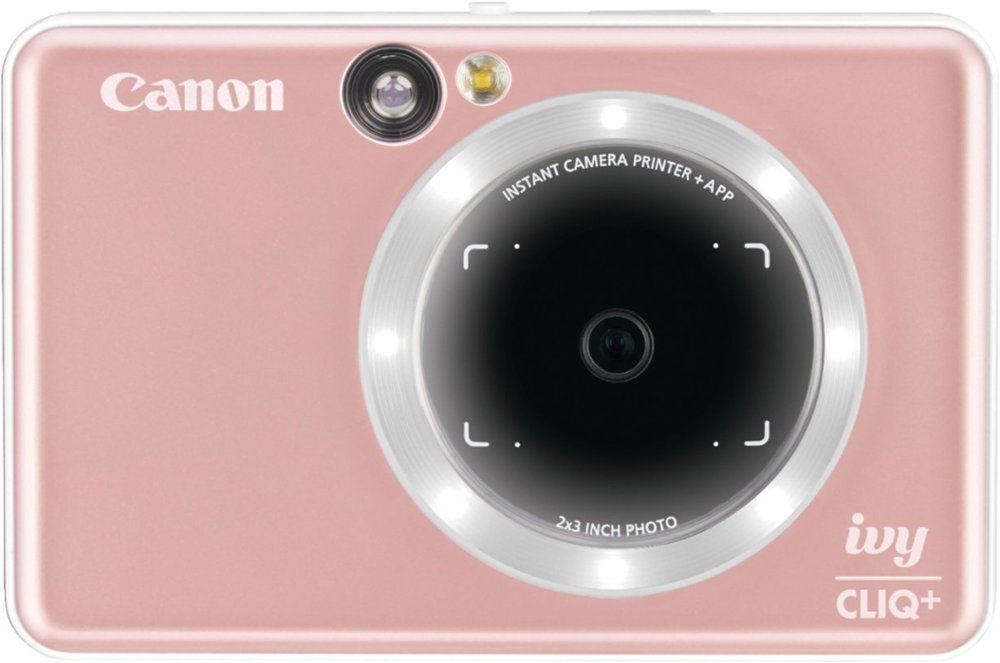 canon ivy camera with selfie light