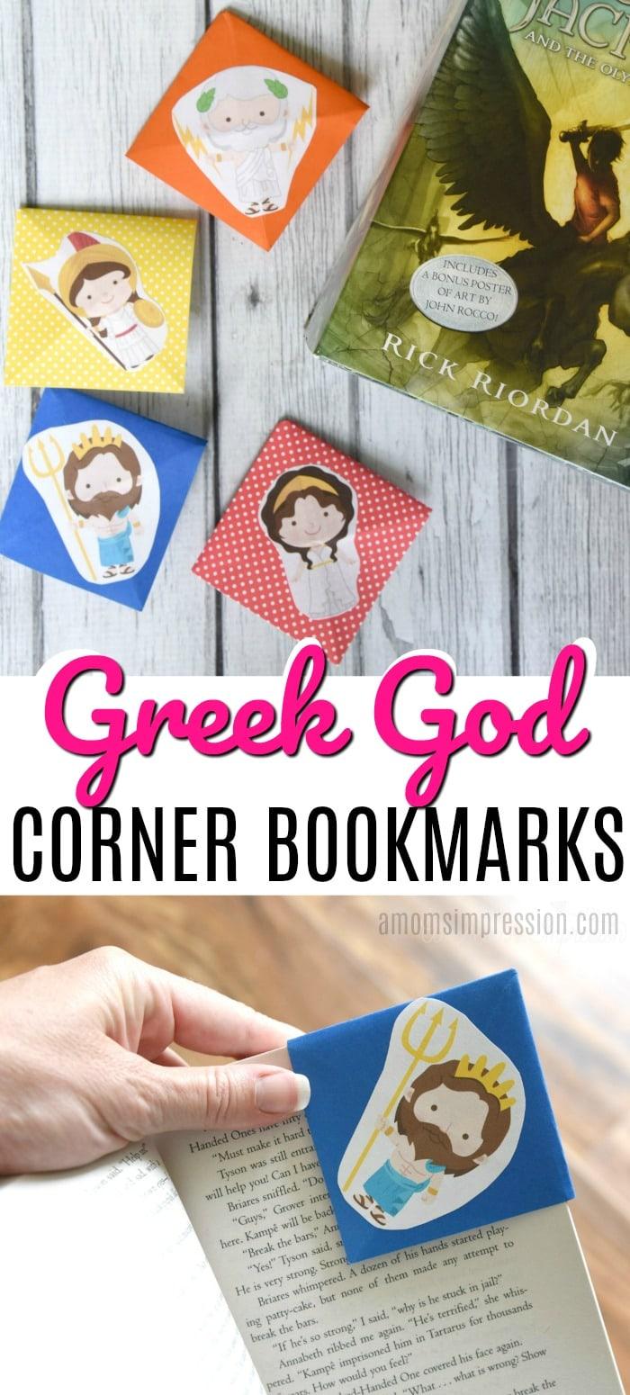 Corner Bookmark Pin