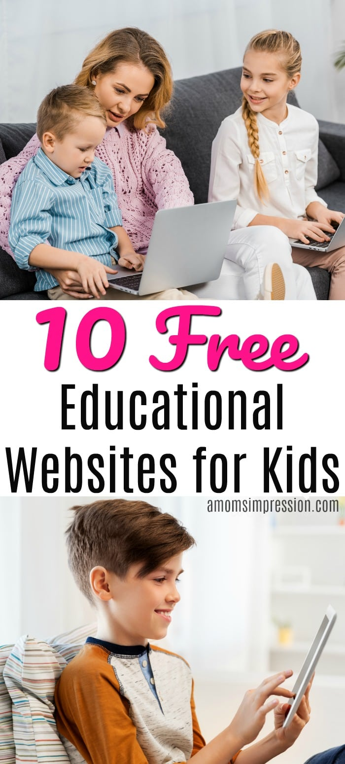 Free educational websites for kid