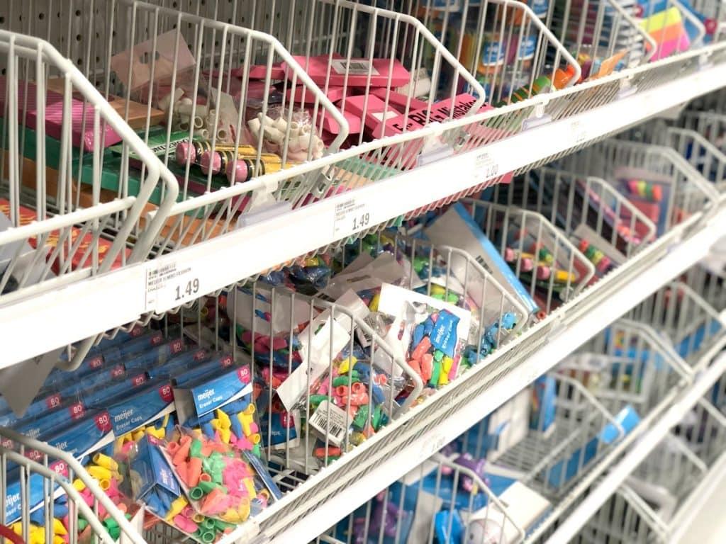 Meijer School Supplies