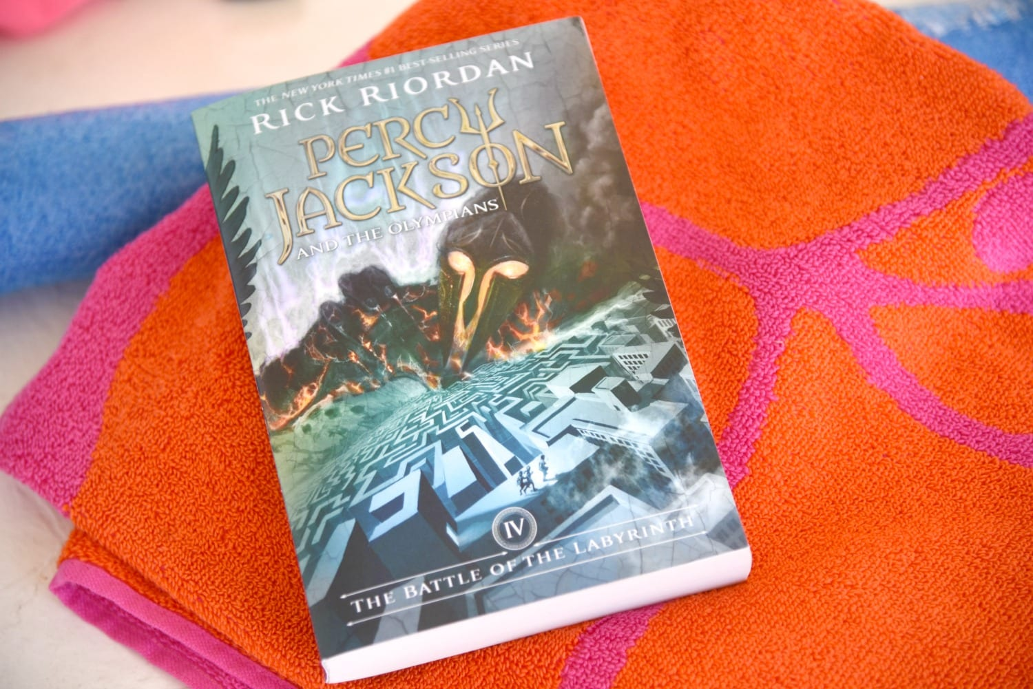 Percy Jackson the battle of the labyrinth