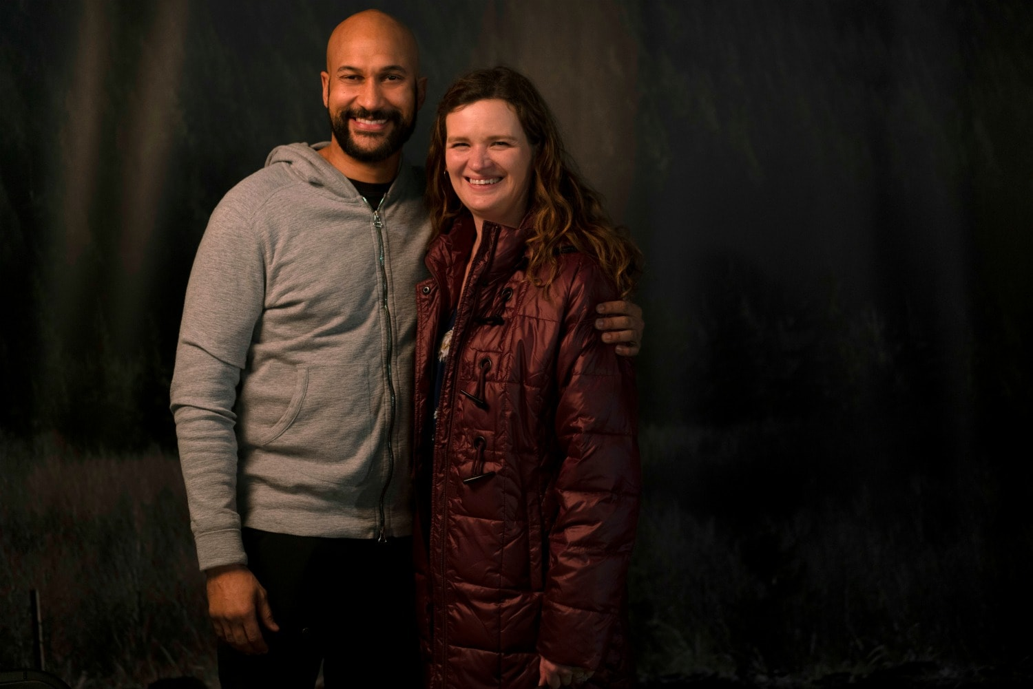 me and Keegan-Michael Key